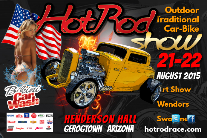 Hot rod show Flyer