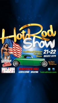 hot rod show instagram post