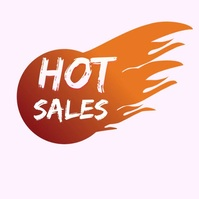 Hot Sales Logo template