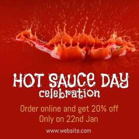 Hot sauce Day