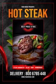 Hot Steak Flyer