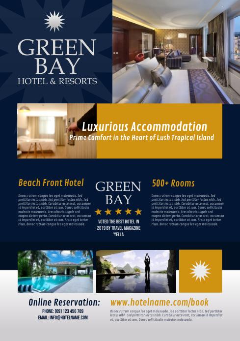 Hotel & Resorts Flyer