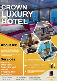 hotel A4 template