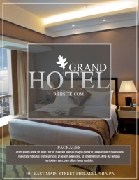 Customizable Design Templates for Hotel | PosterMyWall