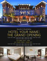 Hotel Grand Opening Event Flyer Template