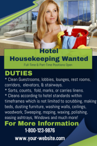 Hotel Housekeeping Staff Wanted