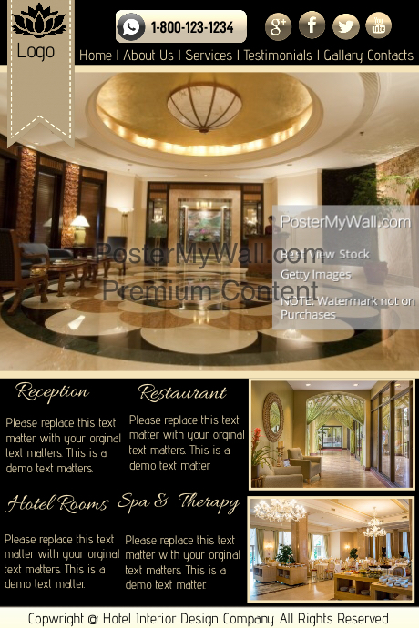 This design template is not available postermywall for 8 design hotel