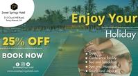 Hotel Promotion Digitalt display (16:9) template