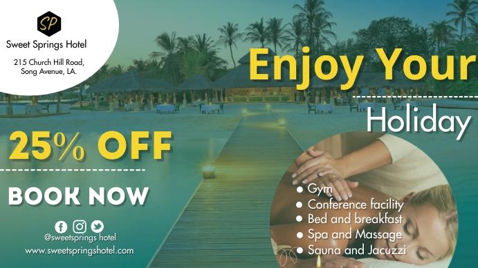 Hotel Promotion Tampilan Digital (16:9) template