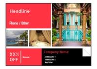 Hotel Promotion Flyer Ikhadi leposi template
