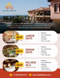 Hotel Room Price List