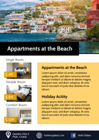 Hotel Rooms Price Lists Holiday Parc Travel A4 template