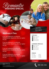 Hotel Weekend Special romantic Advert Flyer