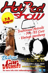 HotRod Show Poster
