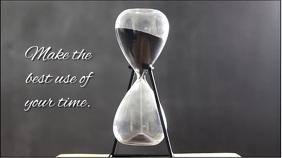hourglass 数字显示屏 (16:9) template