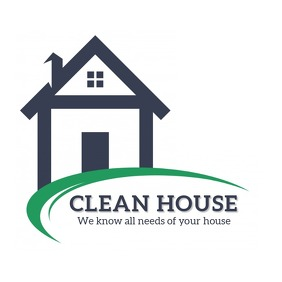 House Cleaner Logo Логотип template
