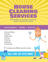 image relating to Free Printable House Cleaning Flyers called 3,400+ Cleansing Company Customizable Design and style Templates