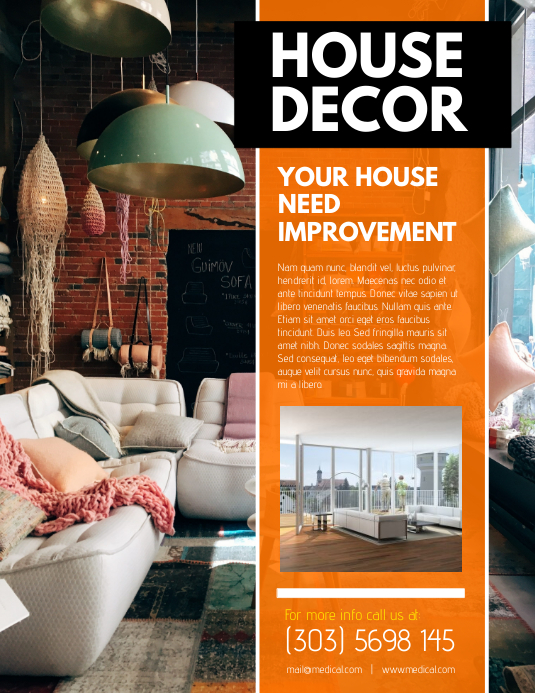 House Decor Flyer Templat Postermywall