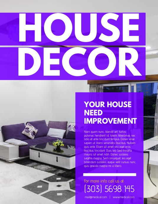 House Decor Flyer