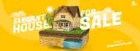 House For Sale Ad Facebook Cover Photo template