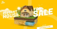 House For Sale Ad Facebook Shared Image template