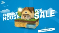 House For Sale Ad Publicación de Twitter template
