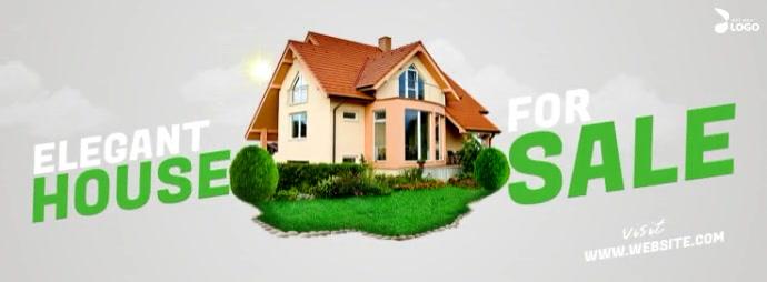 House For Sale Facebook Omslag Foto template