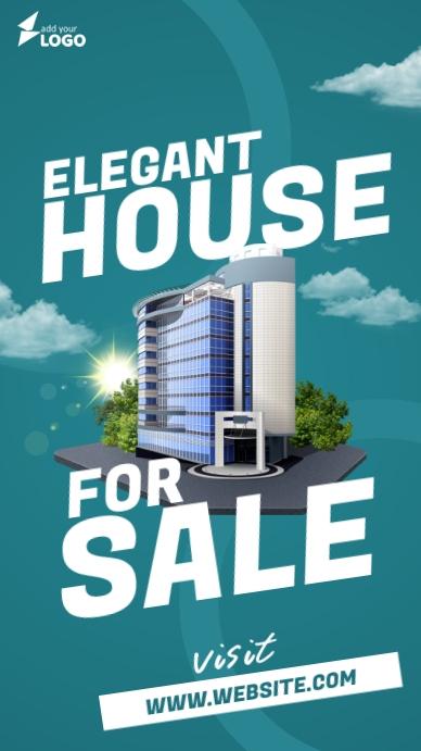 House For Sale Instagram-verhaal template