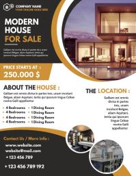 house for sale flyer design template Iflaya (Incwadi ye-US)