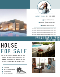 House For Sale / Real Estate Agent Flyer