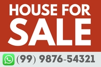 House For Sale Real State Poster Flyer โปสเตอร์ template