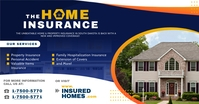 House Insurance Services Facebook Post Templa template