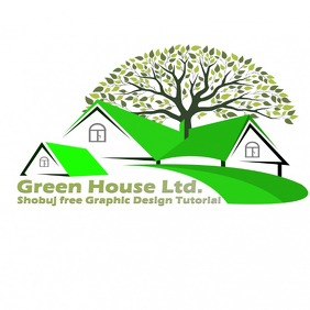 house logo Logotipo template