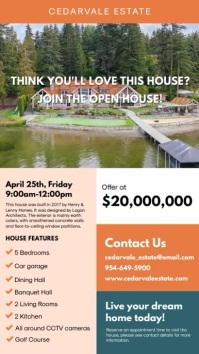 House on Sale Real Estate Signage