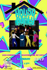 House Party Invitation
