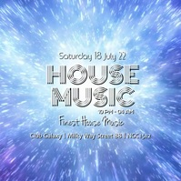 House Party Music Electronic Sound Club Bar