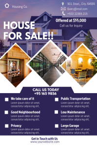 House Sale Template