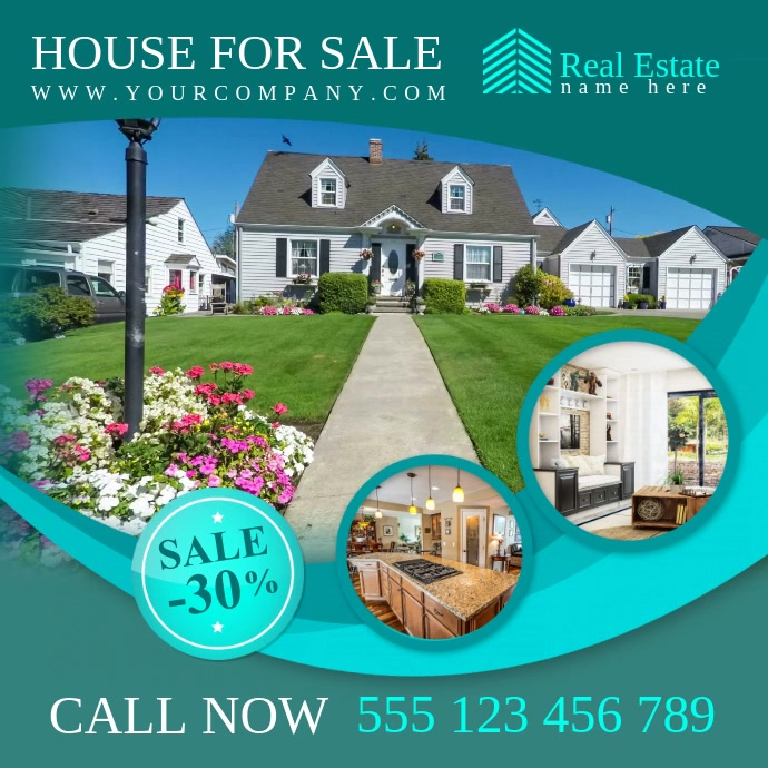 template for selling house