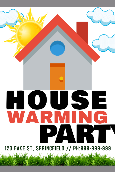 House Warming Poster