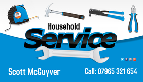 Household service business card