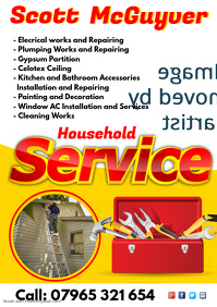 Household Service Flyer