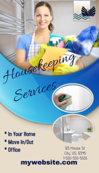 Housekeeping Business Card