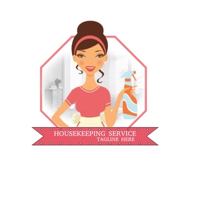 Housekeeping Business Service Logo