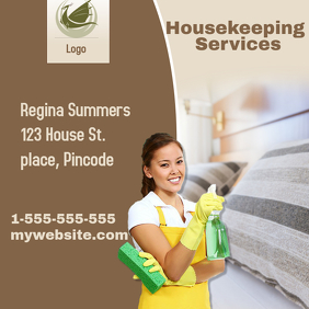 Housekeeping Intragram Template