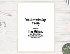 Housewarming Party Volante (Carta US) template