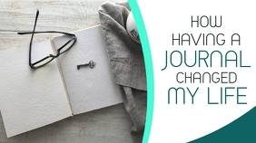 how having a journal changed my life youtube template