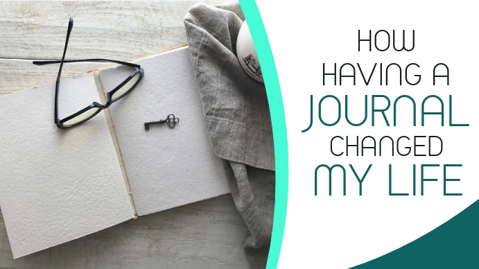 how having a journal changed my life youtube YouTube-thumbnail template