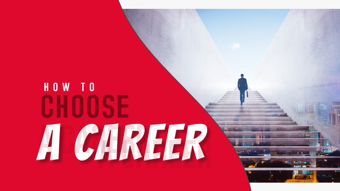 How To Choose A Career Thumbnail template