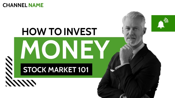 how to invest money stock market 101 YouTube Duimnael template
