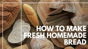 how to make fresh homemade bread youtube thum